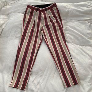 ASOS cropped stripe pant